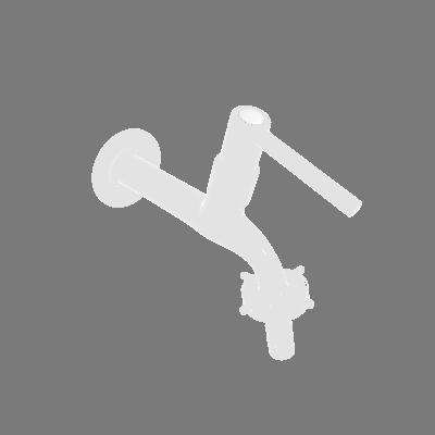 Torneira para Parede de Tanque Bica Baixa Cromado Equation (89374614)