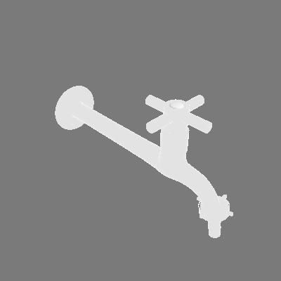 Torneira para Parede de Tanque Bica Baixa Cromado Equation (89374621)