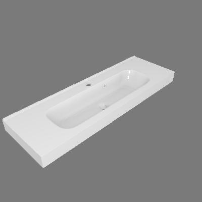 Lavatório Remix Branco Sensea (89531806)