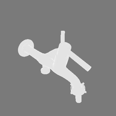 Torneira para Parede de Tanque Bica Baixa Cromado Equation (89374593)