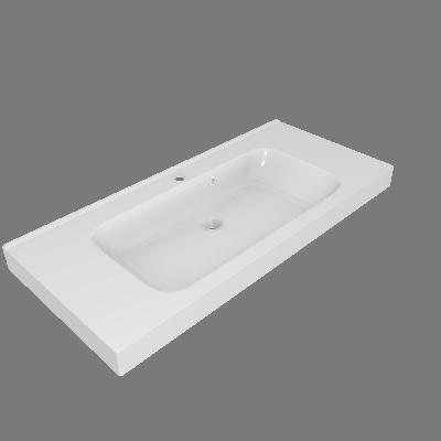 Lavatório Remix Branco Sensea (89531890)