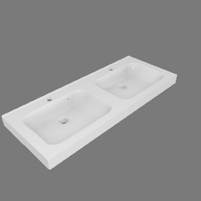 Lavatório Remix Branco Sensea (89531883)