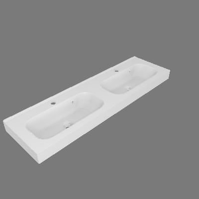 Lavatório Remix Branco Sensea (89531792)