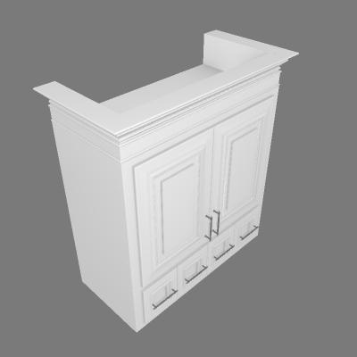 2 Doors 4 Drawers (WADU3030)