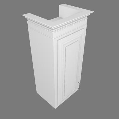 1 Door - Left Door (W1836)