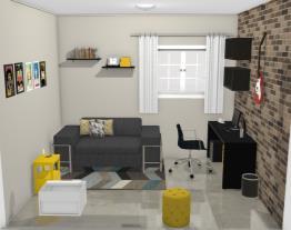 Home Office - Azul Royal