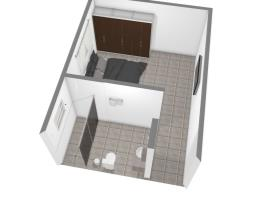quarto e banheiro terreo