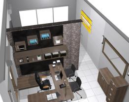 Escritório e sala de reuniões