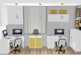 Meu ateliê e Home Office