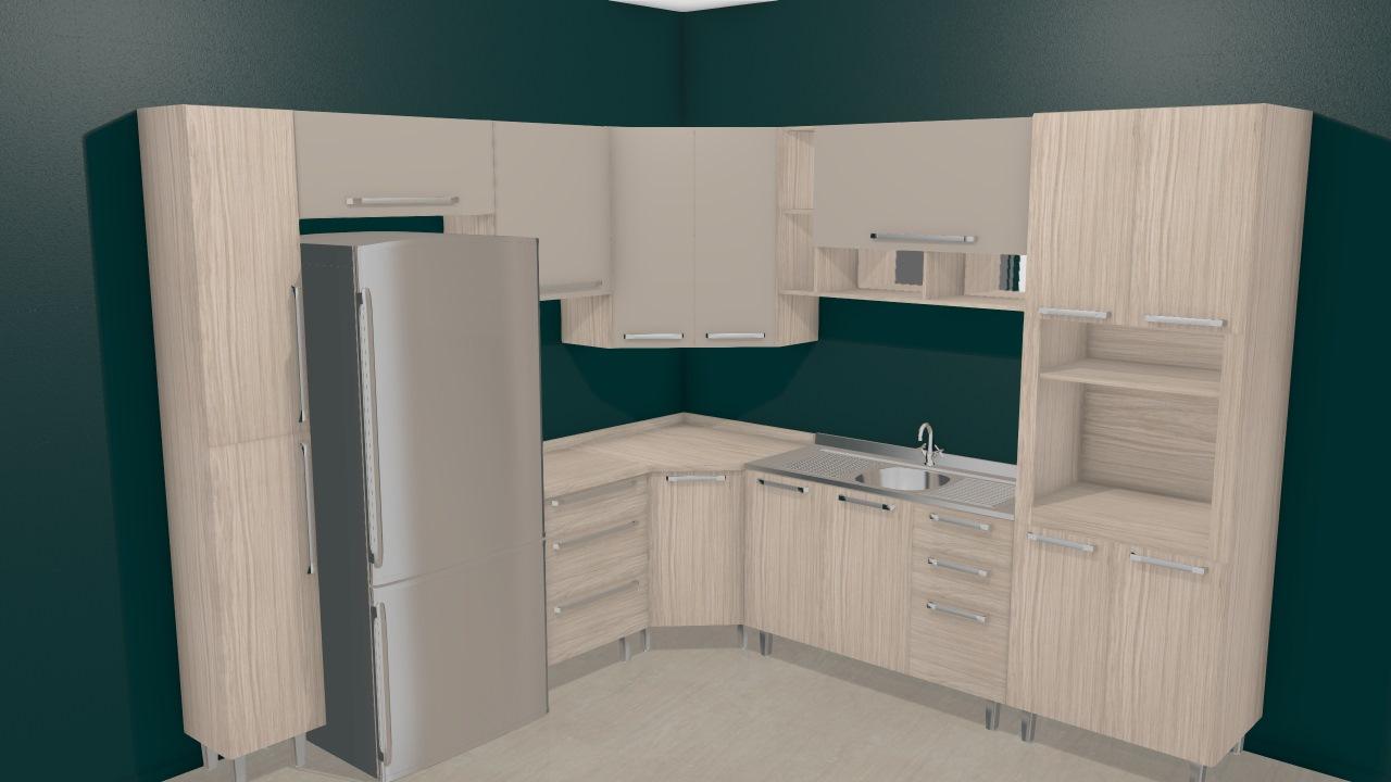 Cozinha Modulada Completa Com 9 M Dulos Smart Fendi Cristal Henn