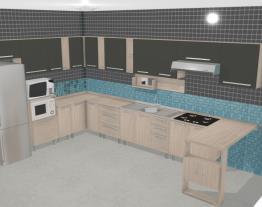 Cozinha Modulada Completa com 17 Módulos Smart Fendi/Amarula - Henn