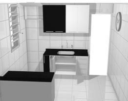 Cozinha Italínea Projeto com portas sem móveis