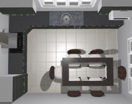 cozinha vivace cinza