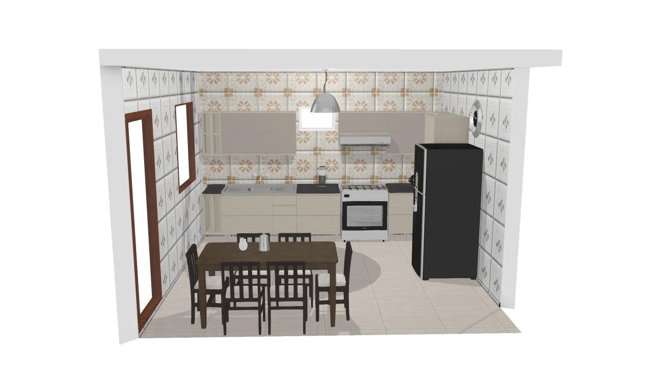 Cozinha belíssima Mara