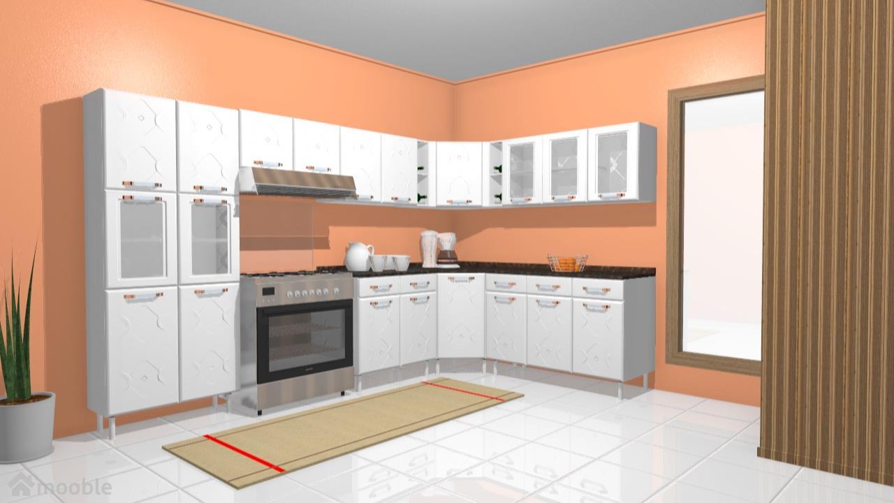 1508 Cozinha Telasul Mirage De Movelaria Planta 3d Mooble