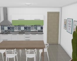 Cozinha Dandara Verde