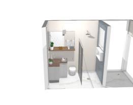 Sacada e banheiro 1.40x2.45 suite