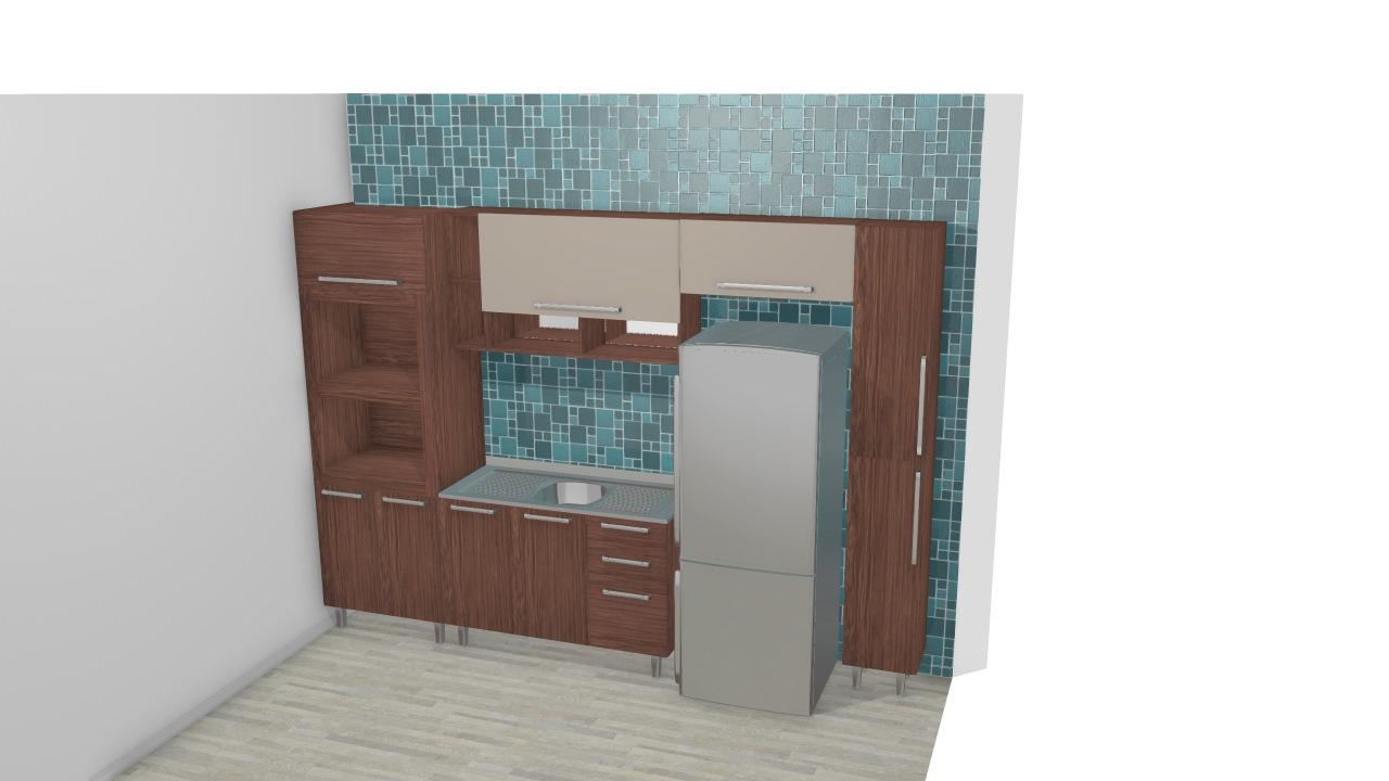 Cozinha Modulada Completa Com Arm Rio A Reo 1 Porta Basculante Com