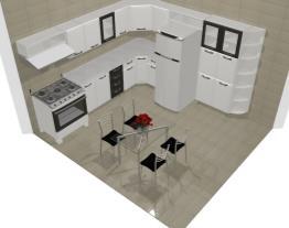 Projeto da casa moderna