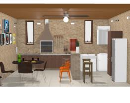 churrasqueira e área de serviço 14