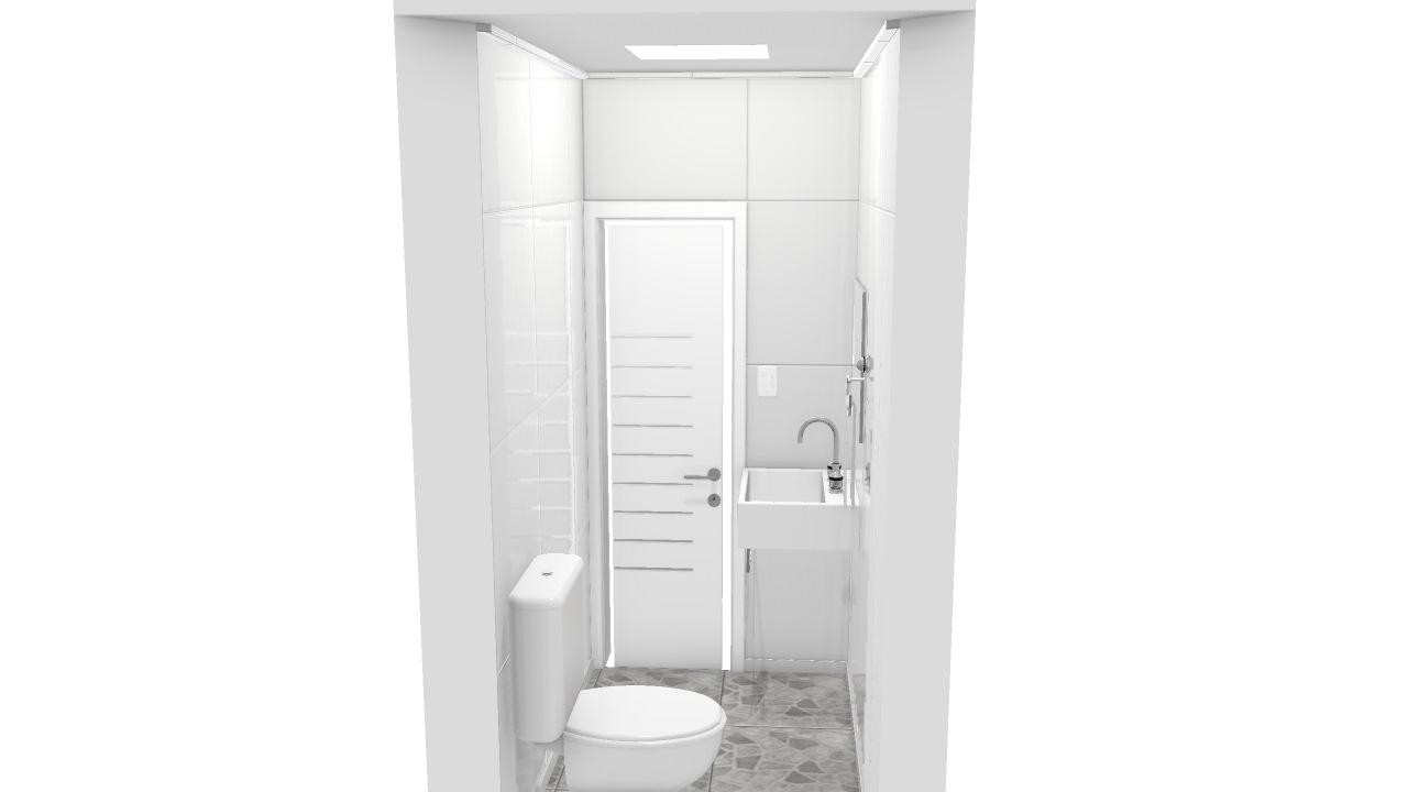 Banheiro área de lazer
