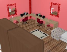 quarto rosa