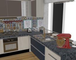 Cozinha e Bancada Altura 90 r2