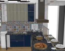 Cozinha e Bancada Altura 90 r4