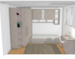 quarto closet sem roupeiro 25 Alice D.Vida Araucaria