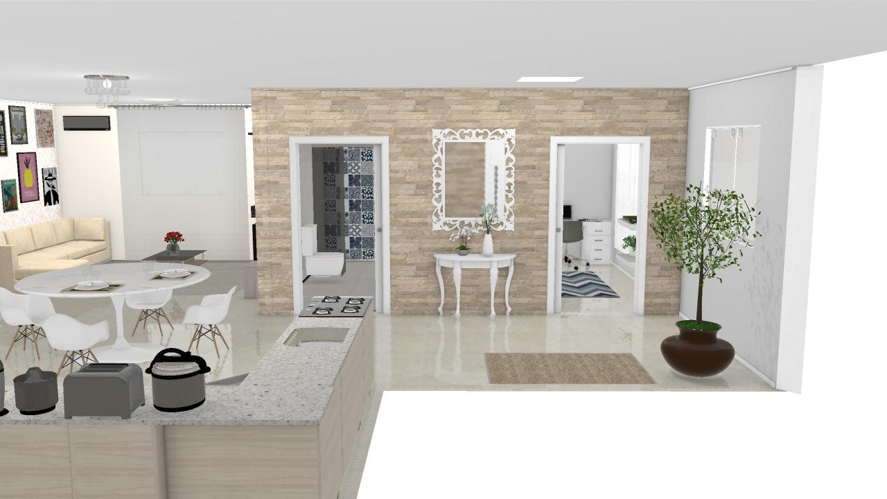 Casa moderna com 2 quartos sendo 1 su te 1 quarto for Casa moderna 1 11 2