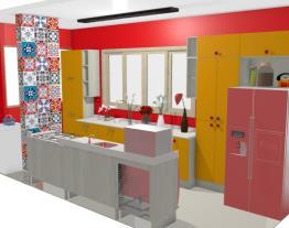 Cozinha e Área de Serviço - Sandra