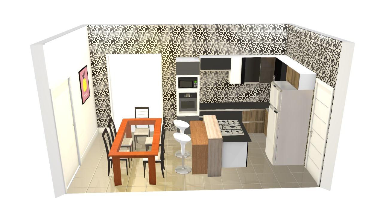 cozinha em acabamento