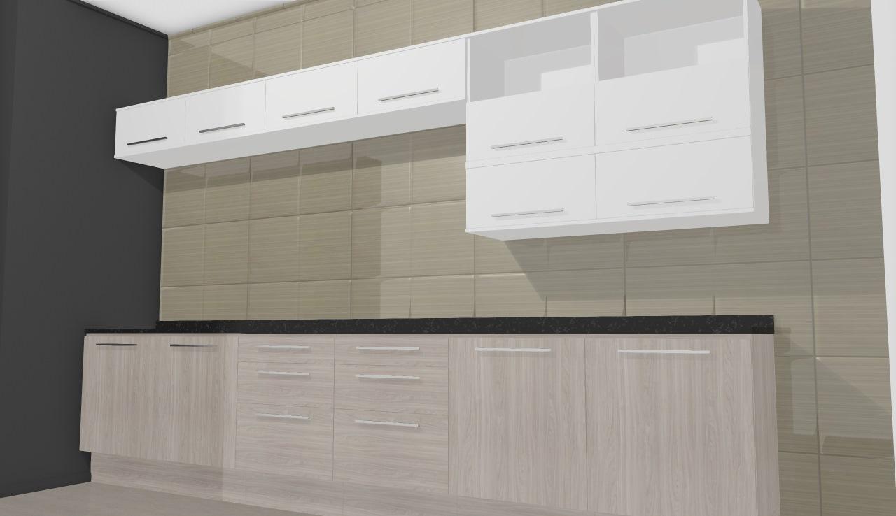 Cozinha Modulada Completa Unique Com 14 M Dulos Carvalle Branco