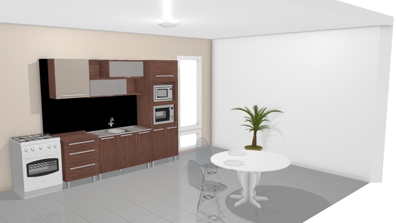 Cozinha Modulada Completa Com 6 M Dulos Smart Turin Cristal Henn