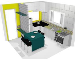 Cozinha Projetando