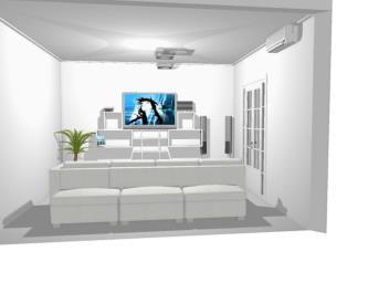 Meu projeto no Mooble sala