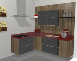 Cozinha Toulouse com Vidro
