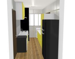 Cozinha e Área de Serviço - Beatriz