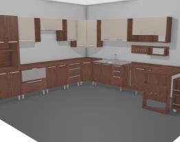 Cozinha Modulada Completa com 20 Módulos Smart