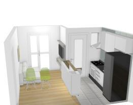 Sala e Cozinha Plan