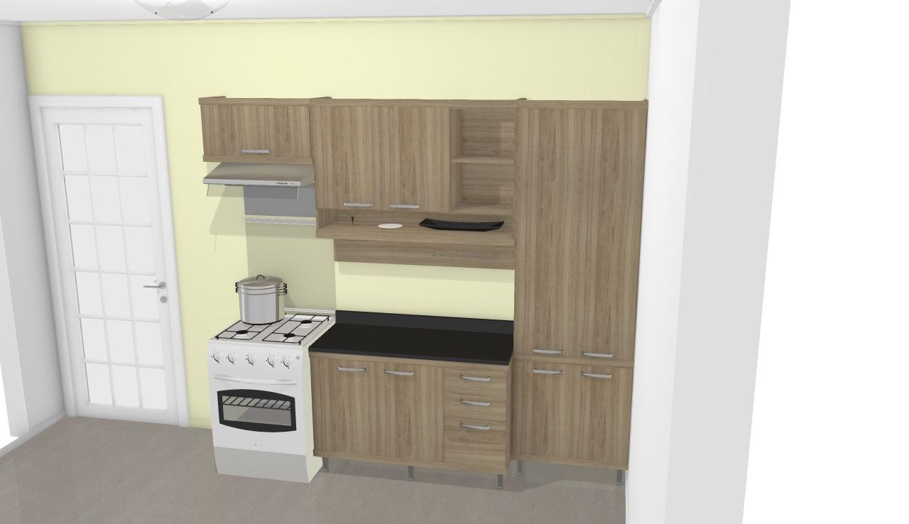 Cozinha Modulada Completa 4 M Dulos Sic Lia Rgila Multimoveis De