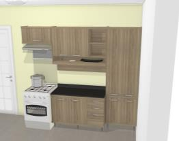 Cozinha Modulada Completa 4 Módulos Sicília Árgila - Multimoveis