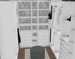 projeto closet inacabado
