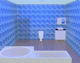 Banheiro de Nicolas e Andrey
