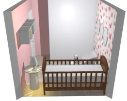 Quarto bebe bruna