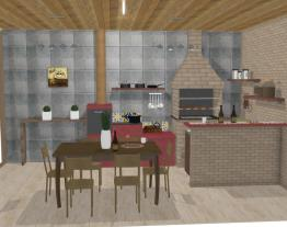 cozinha externa