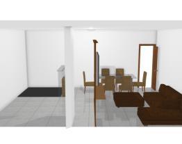 Sala Estar/Jantar Opção 2