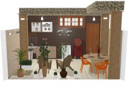 área de lazer casa 40