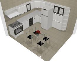 Projeto da casa moderna Luciana