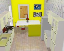 Uma cozinha iluminada (Dijane)
